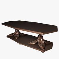 coffeetable furnishings 3d max