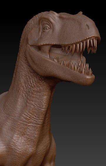 3d dinosaur velociraptor model