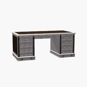 carpenter desk 3d model