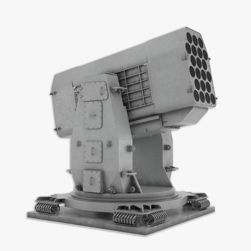 mk49 ram launcher 3d model