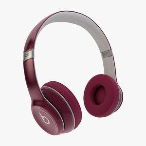 beats headphones - 3d c4d