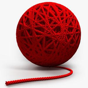 ball string 3d model