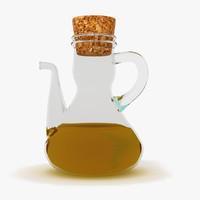 3d cruet olive oil