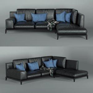 3d model sofa - alamen