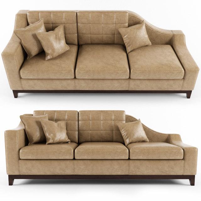 3d model sofa - boston