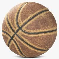 3d model basketball 3