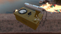 cdv-700m geiger counter 3d model