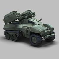 Sci-Fi Tank 01
