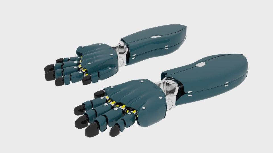 bionicarm2 arm 3d model