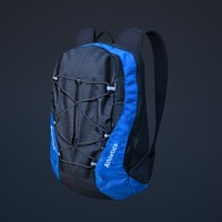 backpack athletics 3d model