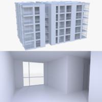 apartment interior buildings x