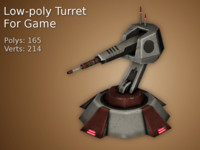 turret games 3d max