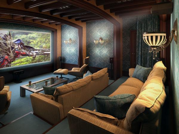picture interior 3d max