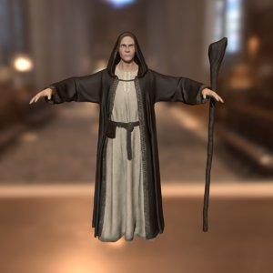 3d model dark wizard