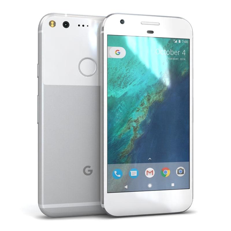 3ds google pixel silver