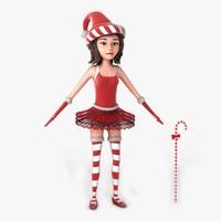 Jill Christmas Elf Non Rig