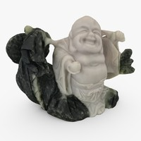 3d model buddha carved chinese