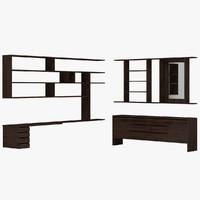 3d furniture 01 model