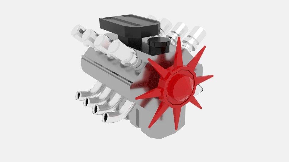 engine xd 3d model