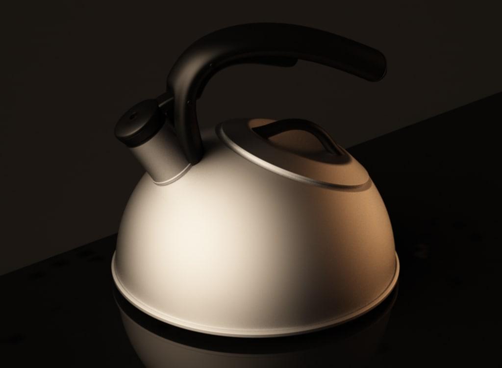 amazing kettle 3d model
