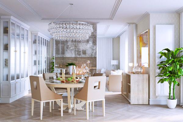 3d model of living room sofa