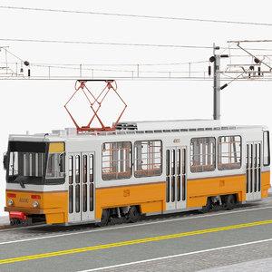 tatra t5c5 tram obj