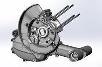 piaggio engine vespa 3d ige
