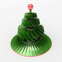 Christmas tree (metal)