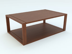 coffe table 3ds