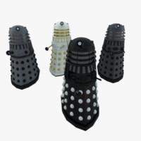 Dalek pack (classic series)