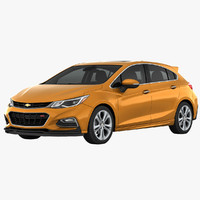 chevrolet cruze hatchback 3d 3ds