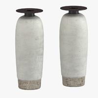hans coper vase 3d model