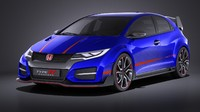 3ds honda civic 2015