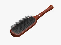hair brush 3d max