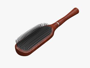 hair brush 3d max