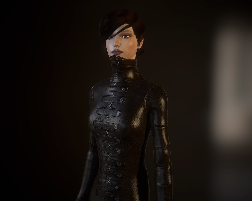 realtime female character max free