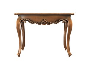 3d carved table
