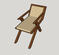 free armchair sketchup 3d model