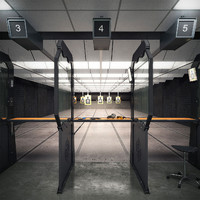 3d model shooting range
