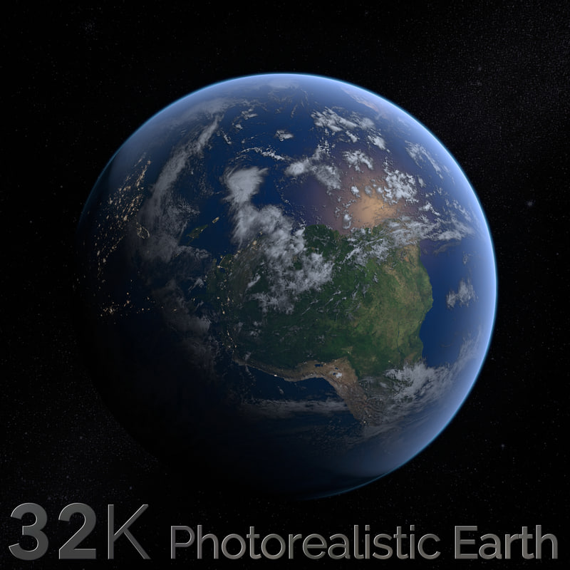 earth cloud c4d