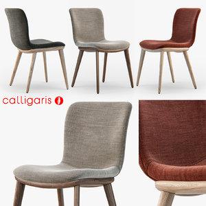 calligaris annie chair 3d max