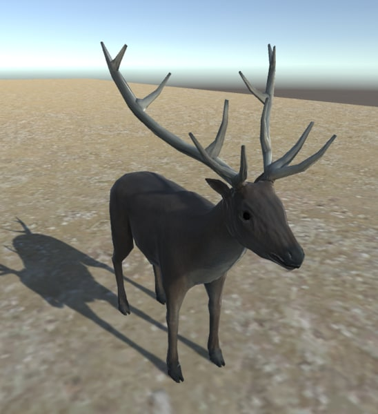 deer animations 3d fbx