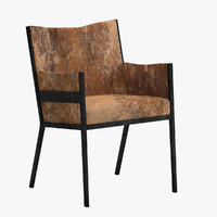 jean-michel frank armchair 3d max