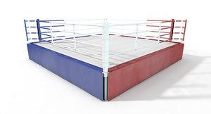 c4d boxing ring