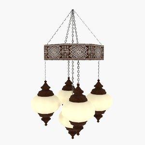 max indian chandelier