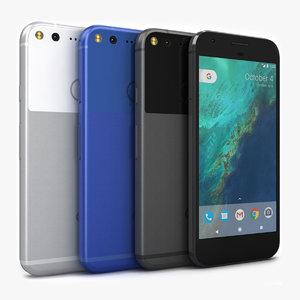 3d model google pixel color