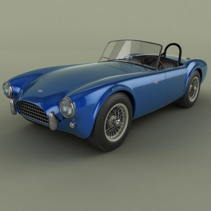 3d 1962 ac cobra 260 model