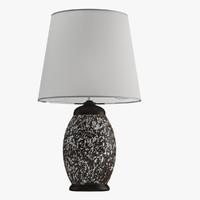 lamp 52 3d max