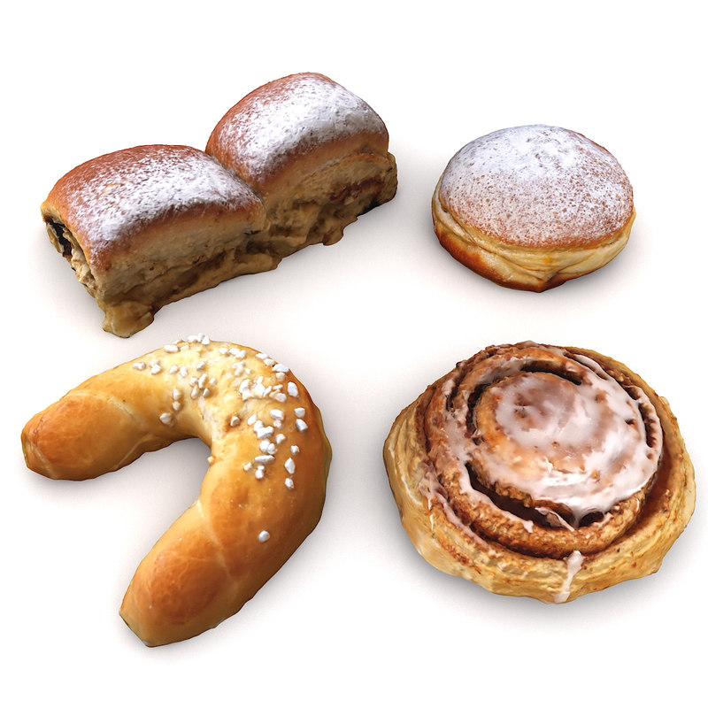 scan pastry 3d max