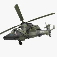 Eurocopter Tiger EC665 German Rigged
